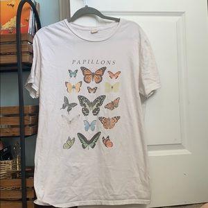 urban butterfly tee